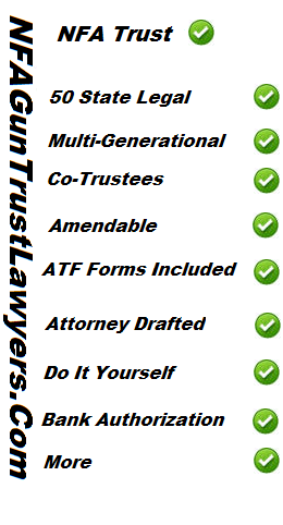 Advantage of an nfa trust from nfaguntrustlawyers gun rights nfa gun trust lawyers can provide you with an nfa firearms trust all gun trust are prepared by gun trust attorneys nfa trust designed to be accepted by solutioingenieria Images