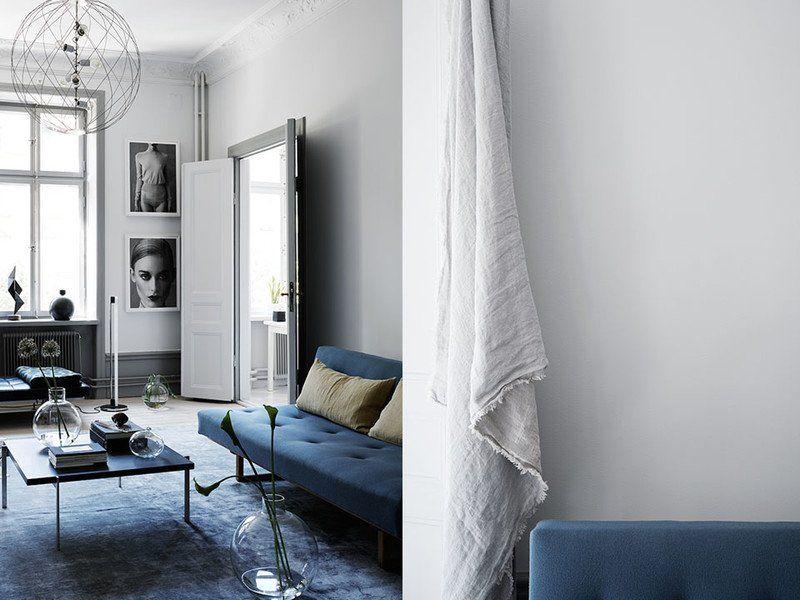 So wird die Farbe Blau in der Wohnung perfekt gestylt! | Die farbe ...