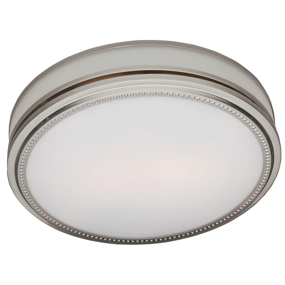 Hunter Riazzi Decorative 110 Cfm Ceiling Bath Fan With Cased Glass