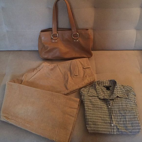 413fbe2a03 3 pieces all together! Club Monaco camel color