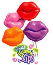 Sour Yummy Lips Lollipop Fundraising 50 PROFIT Sour