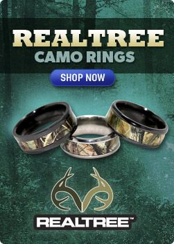 Camo Rings & Camo Wedding Rings - I think he\'d say yes if i got ...