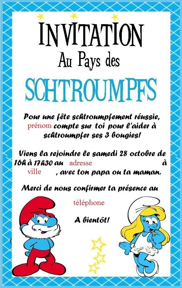 Un anniversaire Schtroumpfs pour les 3 ans de ma fille | Anniversaire schtroumpf, Anniversaire ...