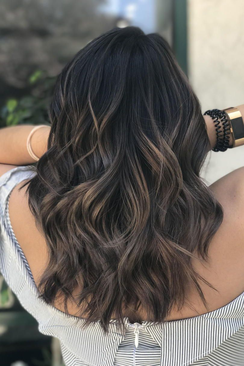 Mushroom Brown Hair Is Trending And It S Much Prettier Than It Sounds Hair Styles Brown Hair Balayage Long Hair Styles
