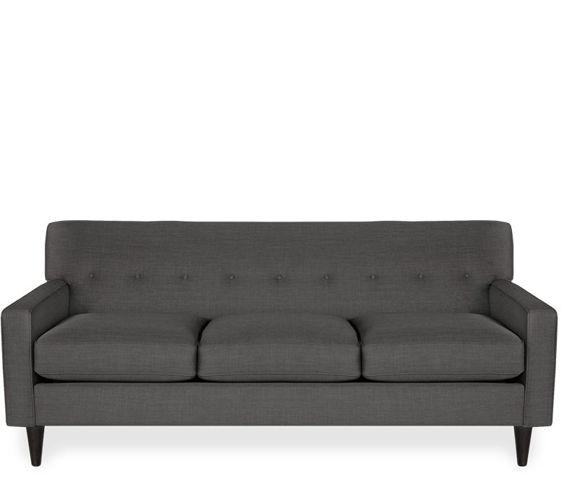 Giselle Sofa   Granite   This Item May Be Custom Ordered In Over 75  Fabrics!Exclusive To Boston Interiors, This Tufted, Tight