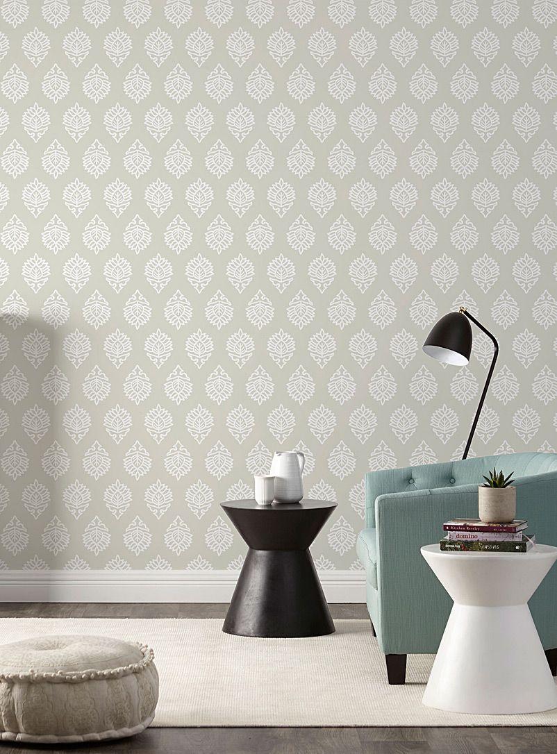 Bande Papier Peint Salon la bande de papier peint médaillon tandoori | simons maison