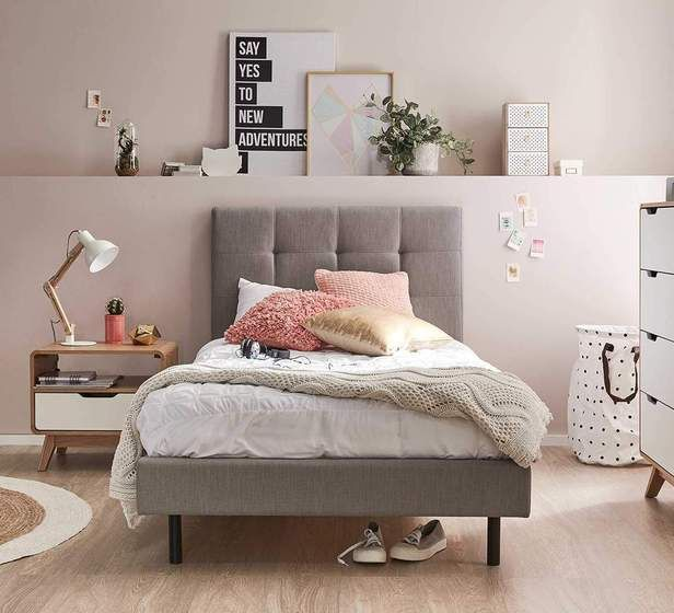 Modena King Single Bed Decor ideas for teen girl bedroom