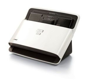 The NeatDesk Desktop Scanner and Digital Filing System – PC is a high-speed desktop scanner and digital filing system that enables you to scan receipts, business cards and documents all in one batch. The patented technology identifies and extracts the important information—and automatically organizes it for you.