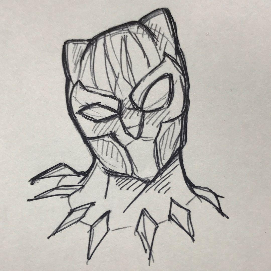 Infinity War Avengers Avengersinfinitywar Blackpanther Marvel In 2020 Marvel Drawings Avengers Drawings Fandom Drawing