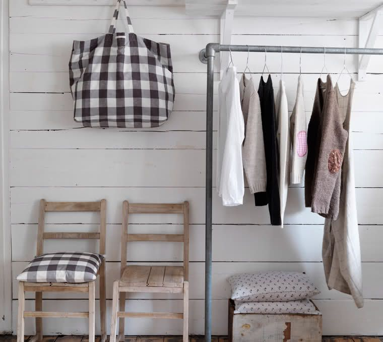 cute bag gingham love Modern rustic decor, Modern