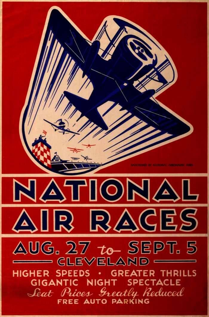 Авиационные рекламные плакаты Соединенных Штатов Америки