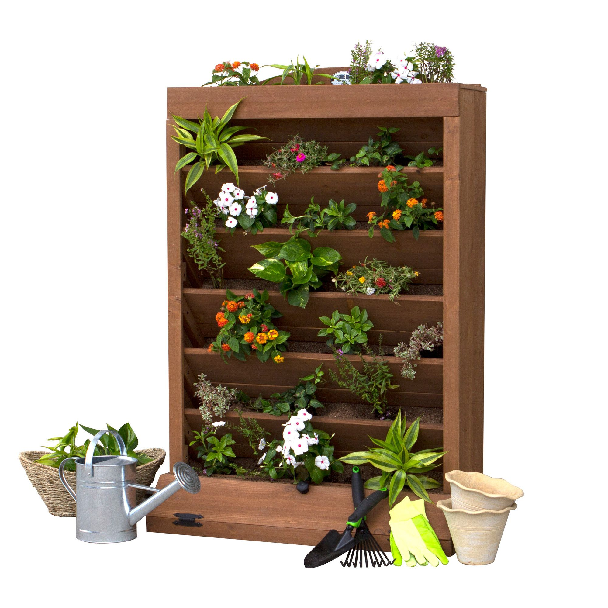 patio garden vertical system planter on hydroponic box planters pack wall of boxes