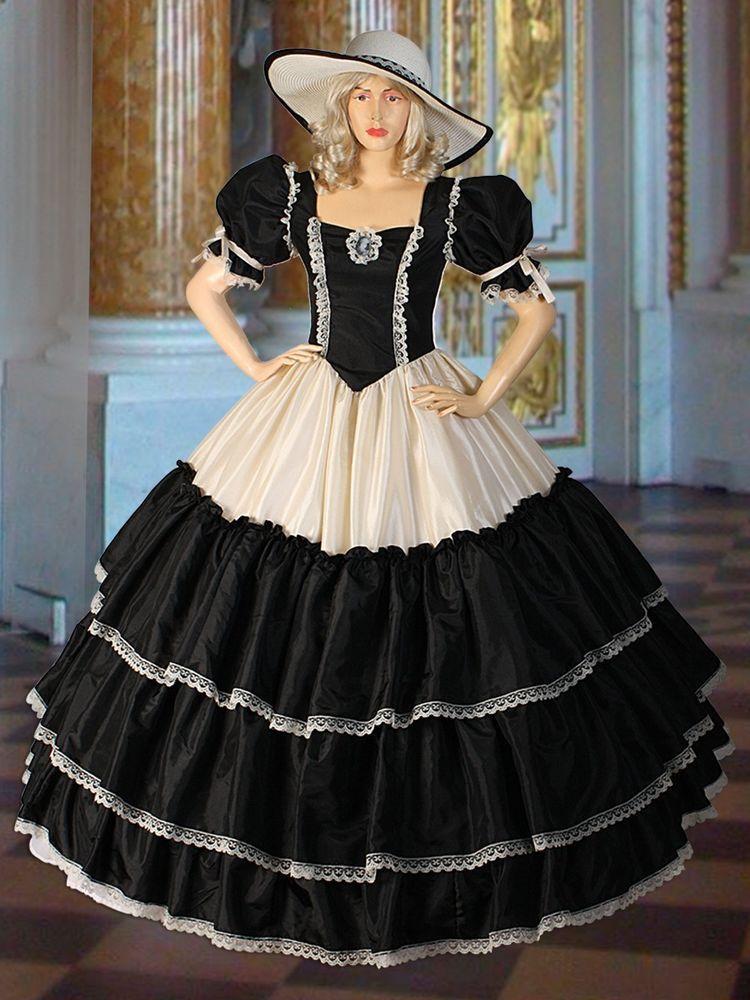 Civil War era Wide Dress Renaissance Ball Wide Gown Fantacy ...