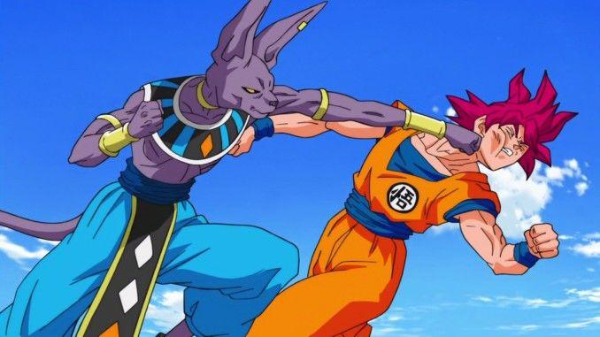 Goku Vs Bills Dbs Dragon Ball Art Dragon Ball Anime