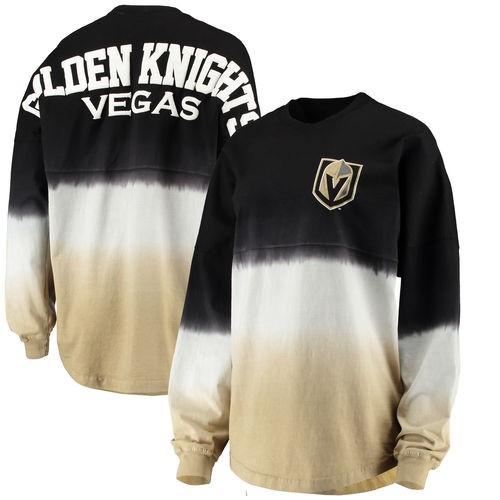 648f5aa7e Vegas Golden Knights Fanatics Branded Women s Ombre Spirit Long Sleeve T- Shirt - Black Gold