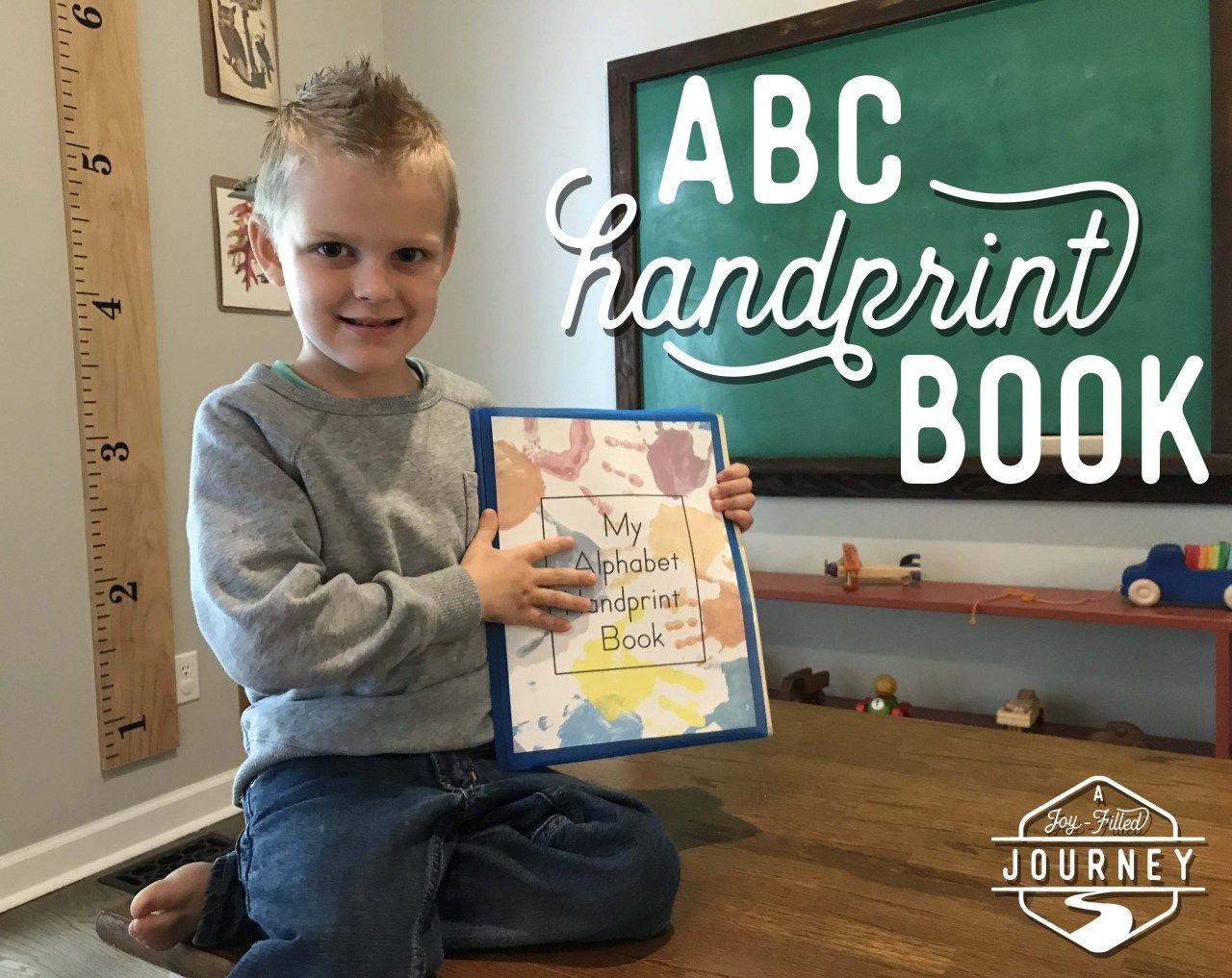 Alphabet Handprint Book
