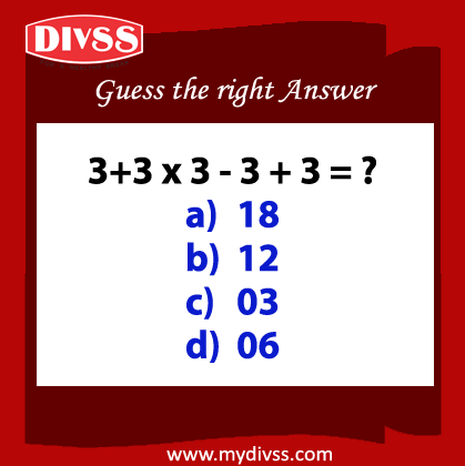 Guess the right answer?