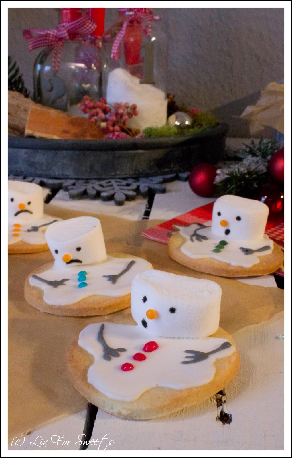 Photo of Snowman Cookies