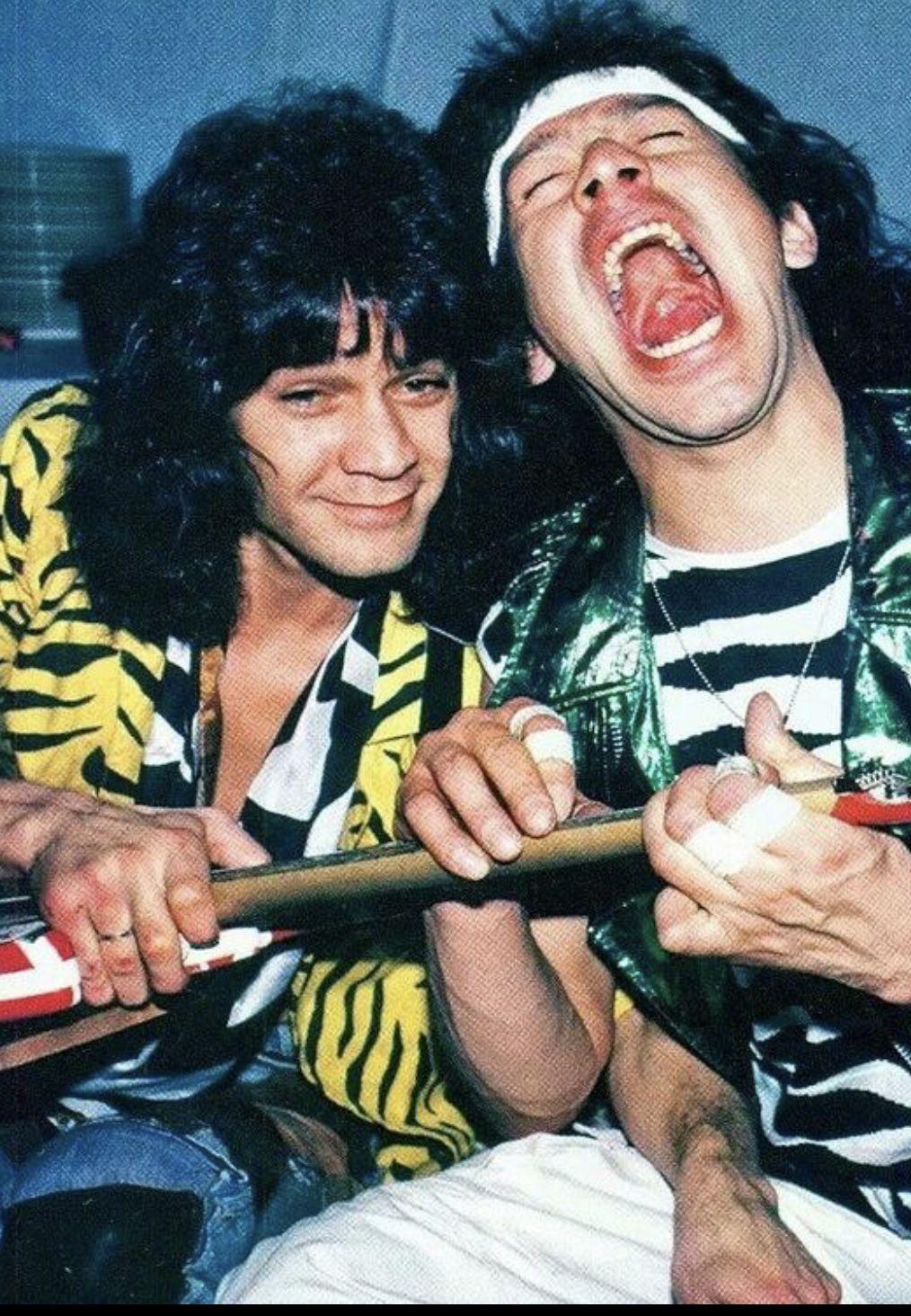 Pin By M S On Van Halen Van Halen Alex Van Halen Eddie Van Halen