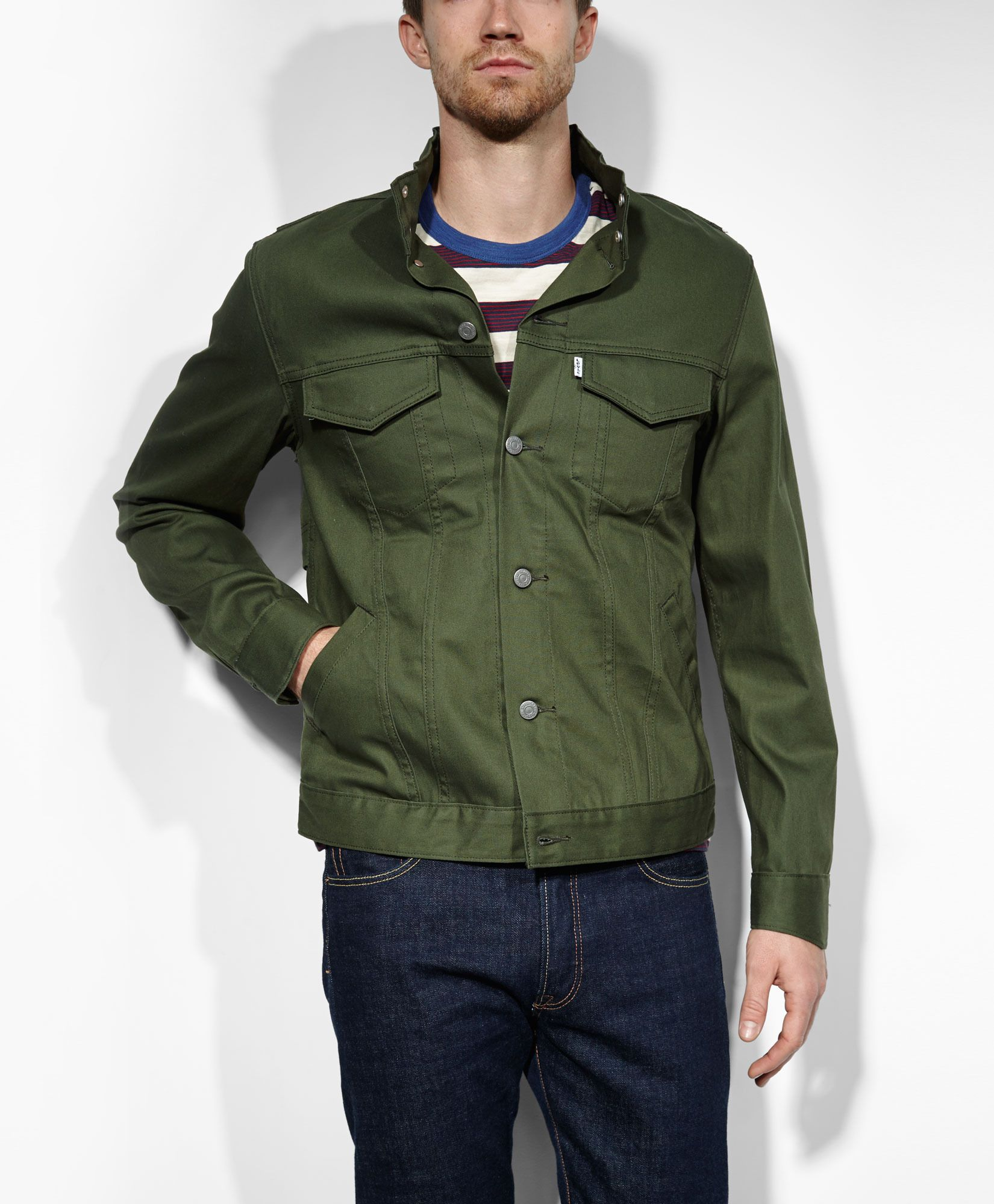Jeans, Jackets \u0026 Clothing | Levi\u0027s� Official Site. Field JacketsSpring  JacketsLevisMen\u0027s ClothingForestsMens FashionGreen JacketHooded ...
