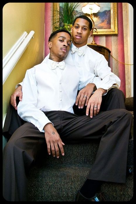 Black gay couples pics