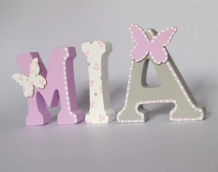 Holzbuchstaben Holzbuchstaben ein Designerstück von B