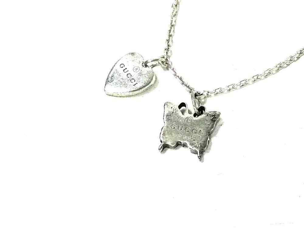 79c6274742 eBay  Sponsored Auth GUCCI Silver Necklace