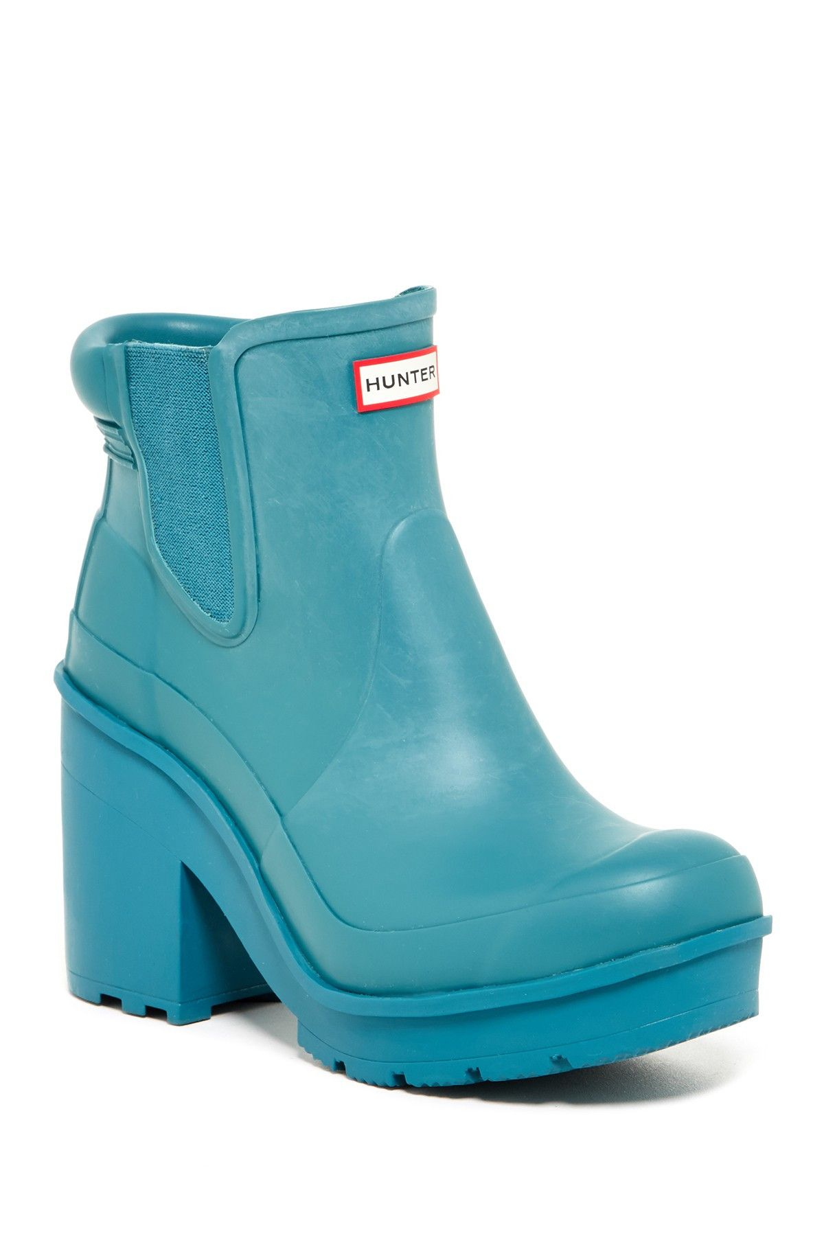 Original Block Heel Platform Boot
