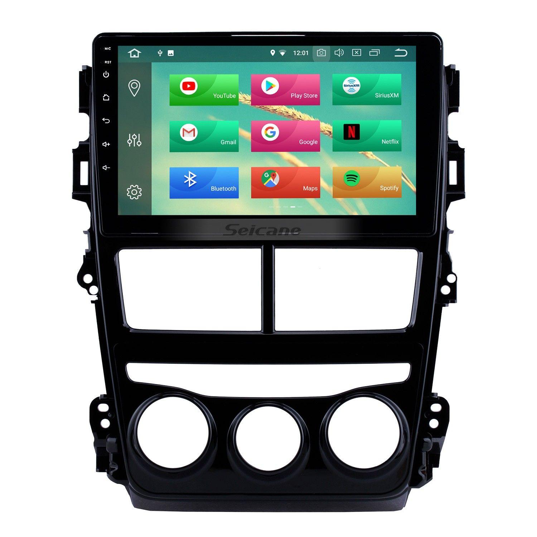 2018 Toyota Vios Yaris Lhd Manual Air Conditioner 9 Inch Android 10 0 Hd Touchscreen Gps Navigation Radio Bluetooth Usb Carplay Dvd Player Steering Wheel Contro Gps Navigation Gps Toyota Vios