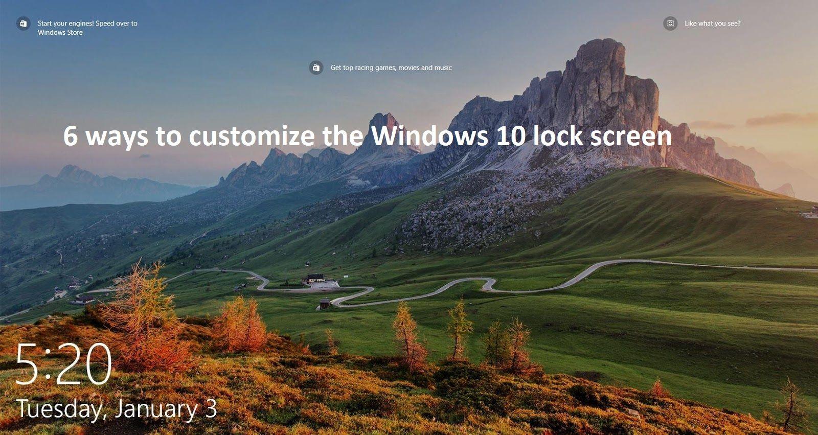 Pin By Techfordaily On Techfordaily Change Locks Lockscreen Windows 10
