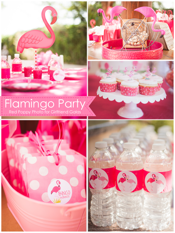 Fabulous Flamingo Bingo Party Ideas