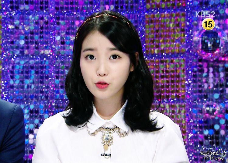 우연히, 봄 :: 140908 추석 특집 쟁반노래방 아이유 캡쳐