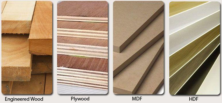 Engineered Wood Vs Plywood Vs Mdf Vs Hdf Wfm Wood Engineered Wood Plywood