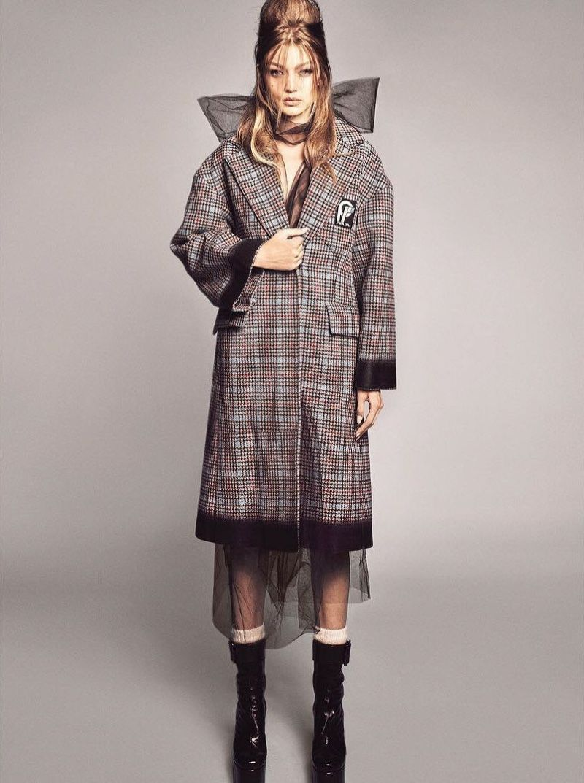 Gigi Hadid Models Rockabilly Style For Vogue Brazil Mode