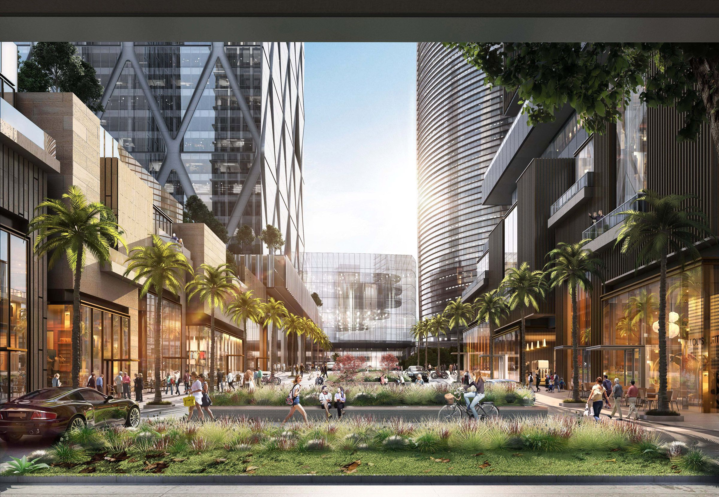 One Bangkok by Skidmore, Owings and Merrill in Bangkok, Thailand