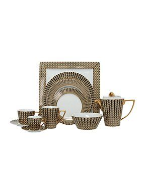 Your Biba Deco Pea Dinnerware Range Online Now At House Of Fraser