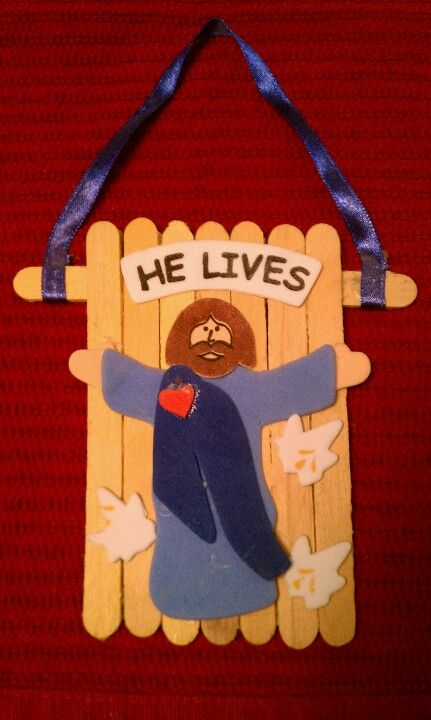 Easter sunday school craft crafts and other fun stuff for Jesus is alive craft ideas