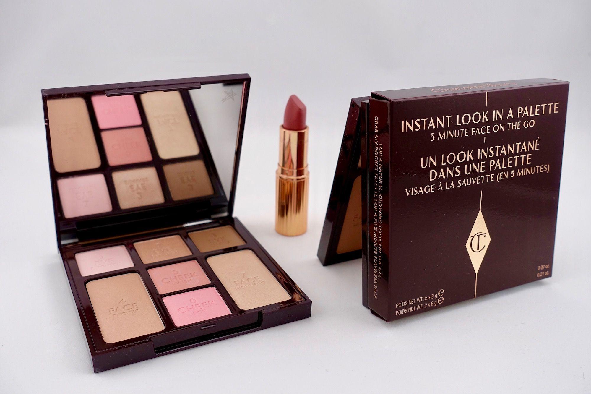 Charlotte Tilbury Instant Look Palette 5 minute Look Anverelle Review Natural Beauty Seductive Beauty 3