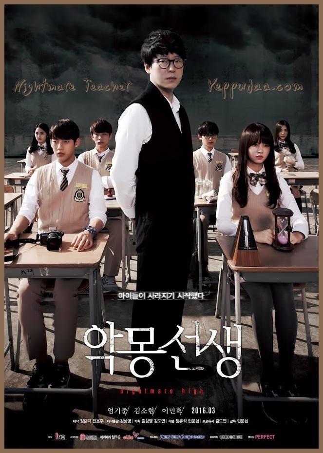 Nightmare Teacher 2016 Guney Kore Online Mini Dizi Izle Yeppudaa Korean Drama Dramalar Kore Dramalari