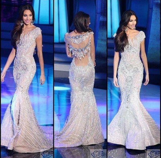 Miss Venezuela International 2014 Evening Gown   Pageant Gowns ...