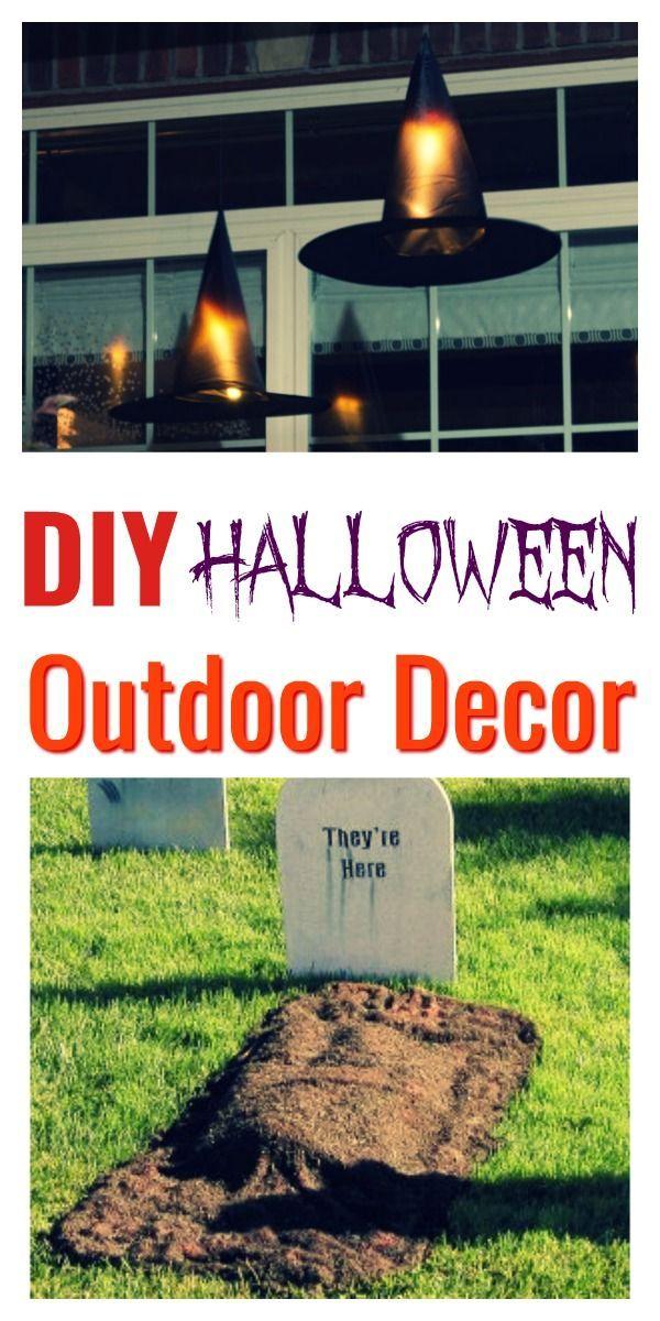 DIY Halloween Decoration Ideas Halloween Pinterest Halloween