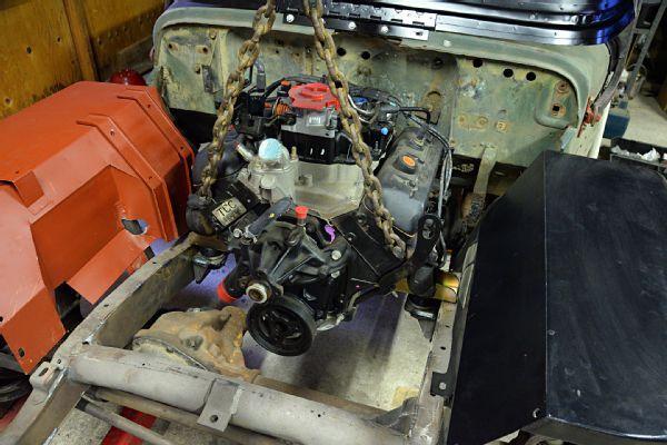 006 Jeep Willys Flatfender Engine Swap Cappa Gpw 43 Gm V6 Photo