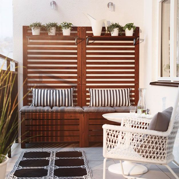 13 Ideas De Balcones Ikea Decoracion Terraza Decoracion