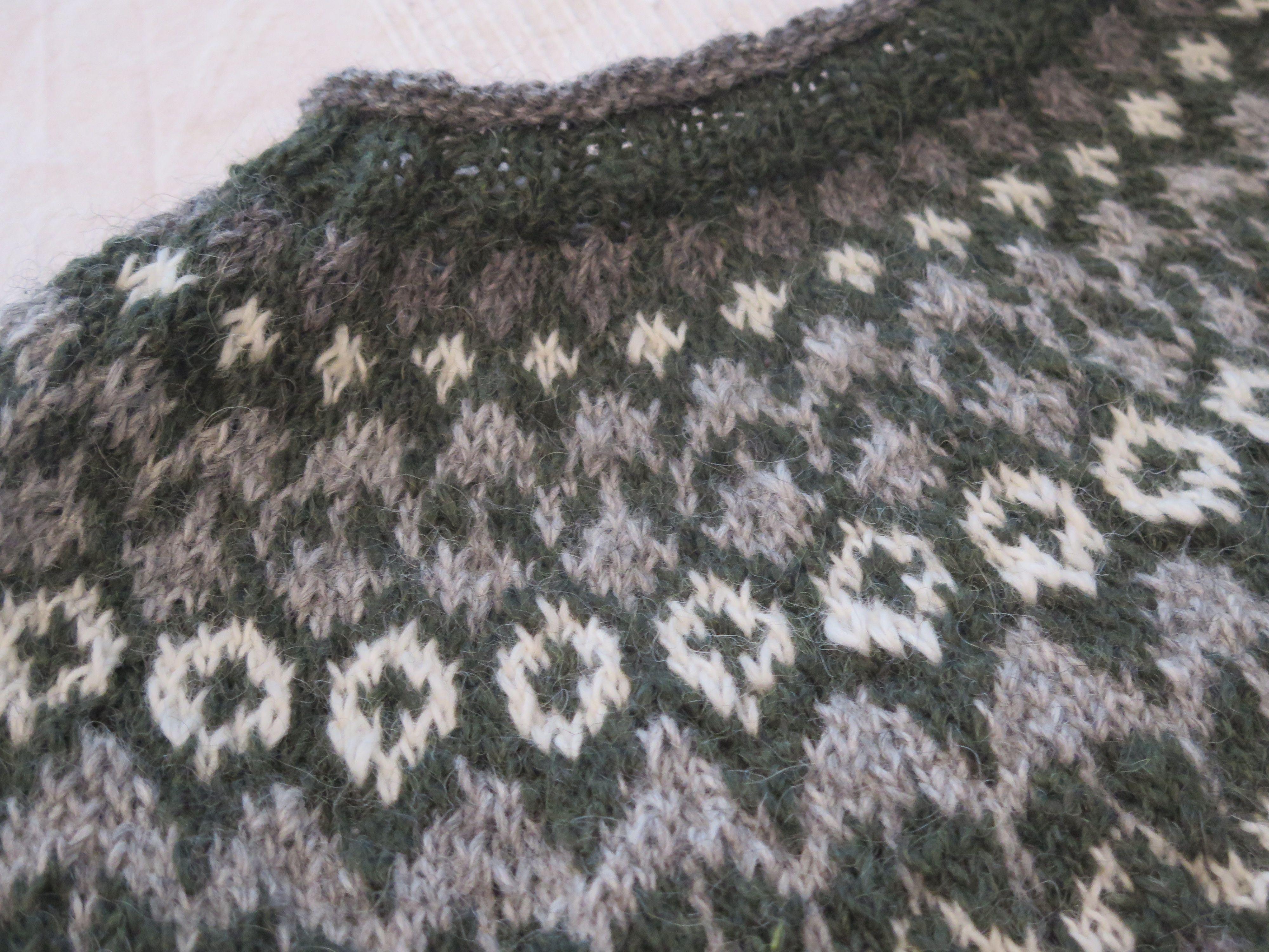 Mein erster Islandpullover. Anleitung: islandwolle-shop | wohlfühlen ...