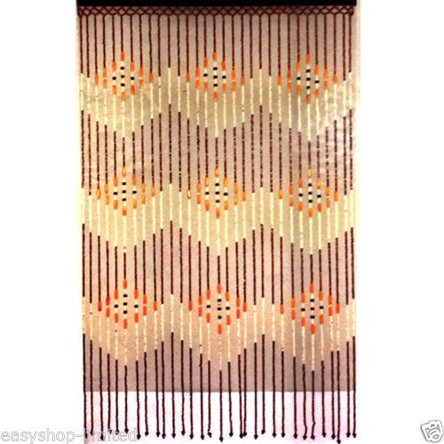 Details About TOP QUALITY BAMBOO BEADED DOOR CURTAINS BLINDS FLY INSECTS DOOR  CURTAIN WOODEN