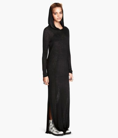Hooded Maxi Dress Hm Clothes Dresses Hm Fashion