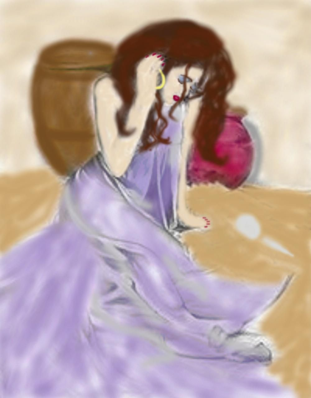 The Alabaster Box My Artwork Bible Women