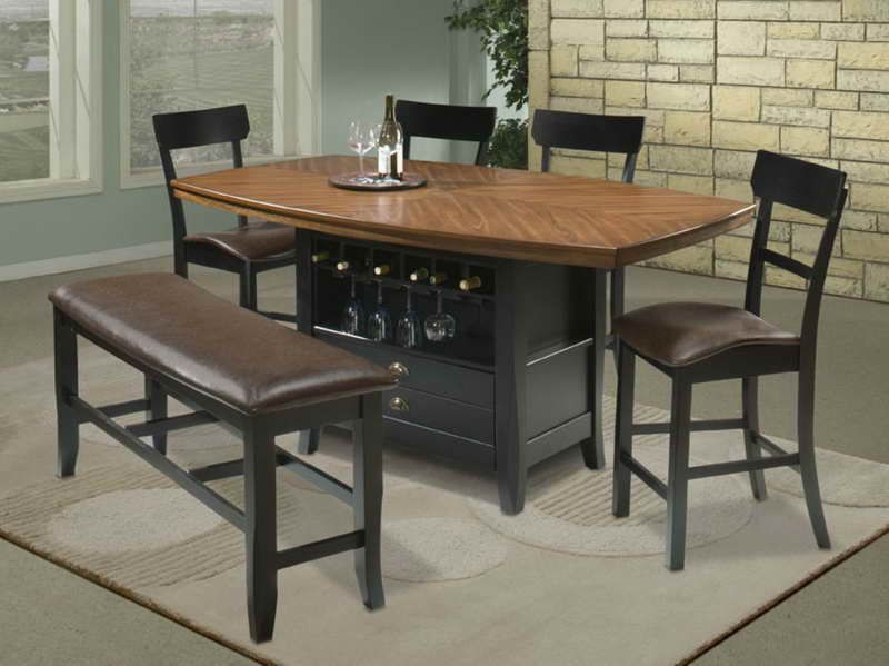 Kitchen Table Sets With Storage Bar Table High Top Tables
