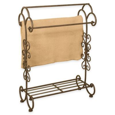 Buy Metal Quilt Rack With Bottom Shelf In Oil Rubbed Bronze From ... : metal quilt rack - Adamdwight.com