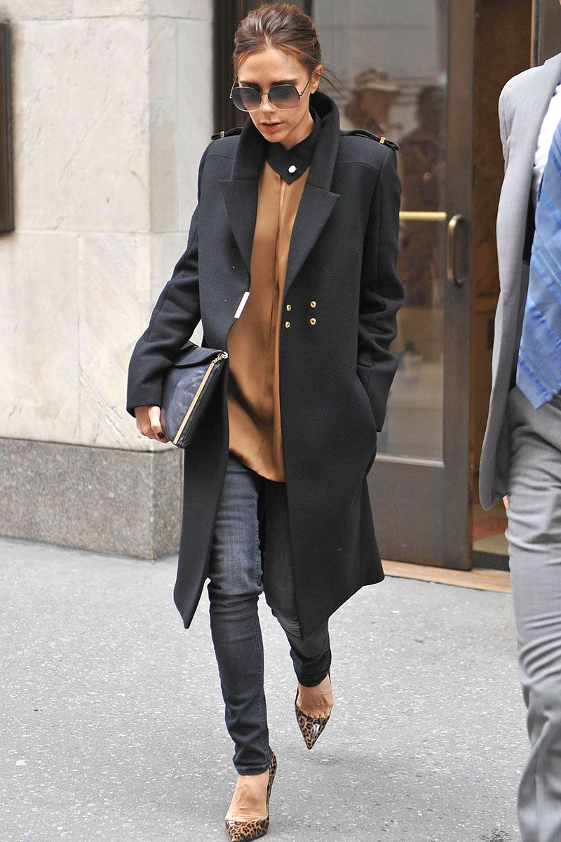 Victoria Beckham S 40 Best Fashion Looks Pictures Of Style Elle
